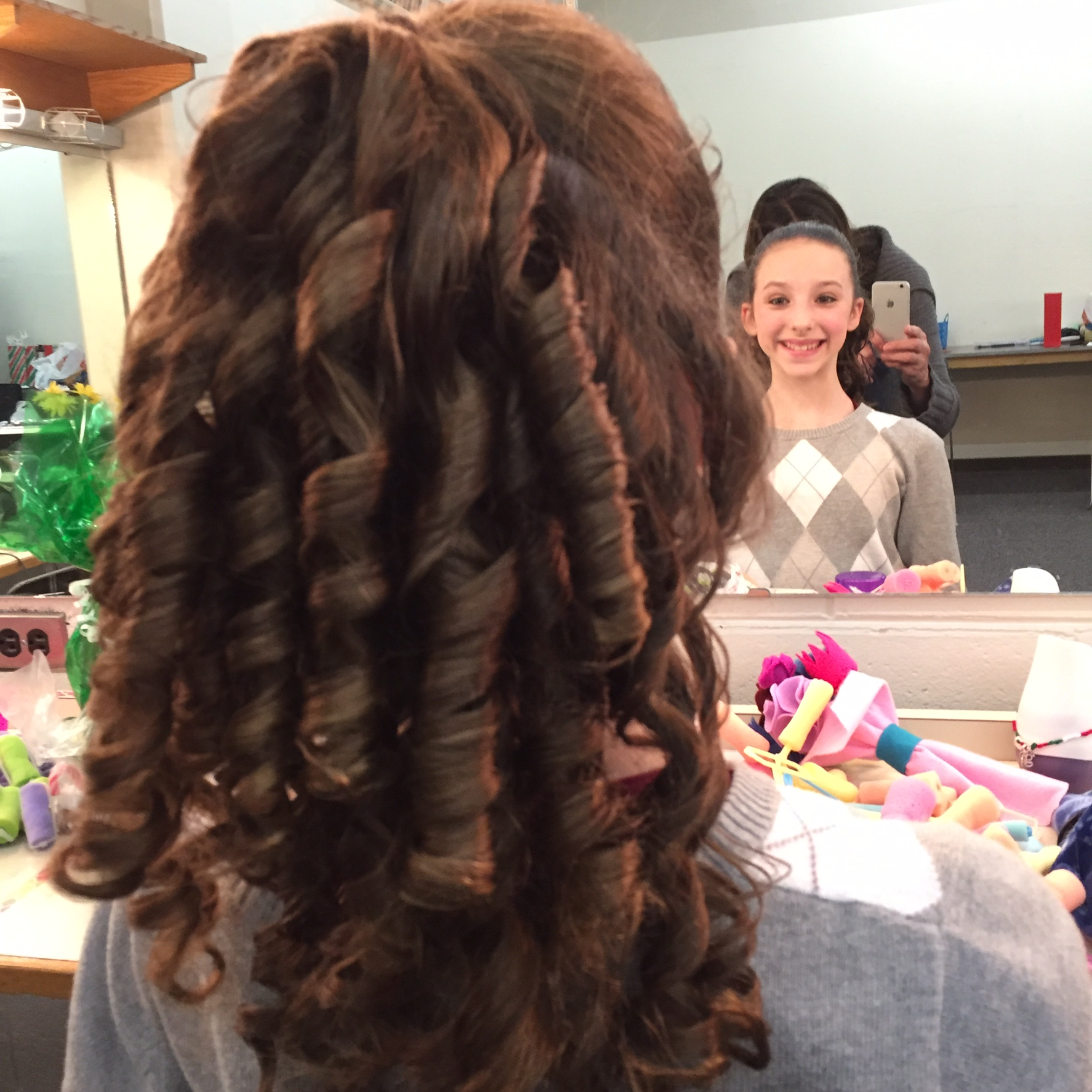 Nutcracker Ringlets Hair Tutorial – Ella